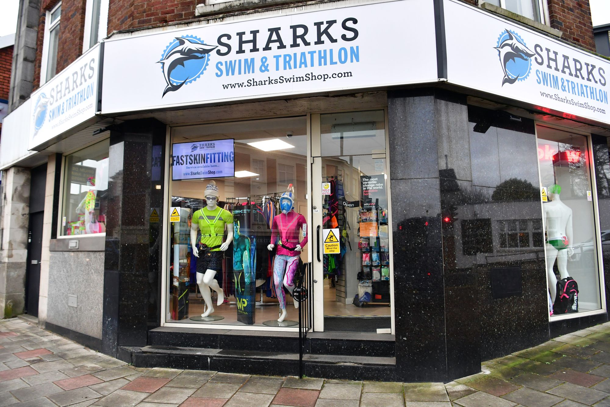About Sharks Swim Shop - Swim & Triathlon Shop, Swansea