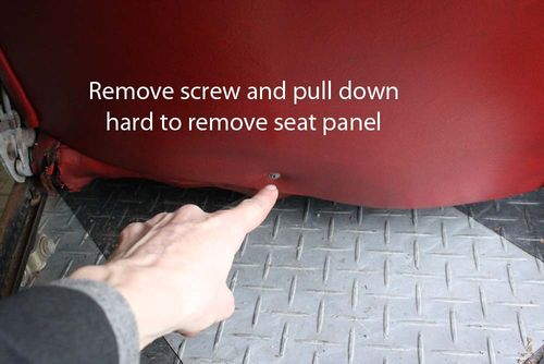 Tutorial -- Seat Disassembly for Mercedes R107