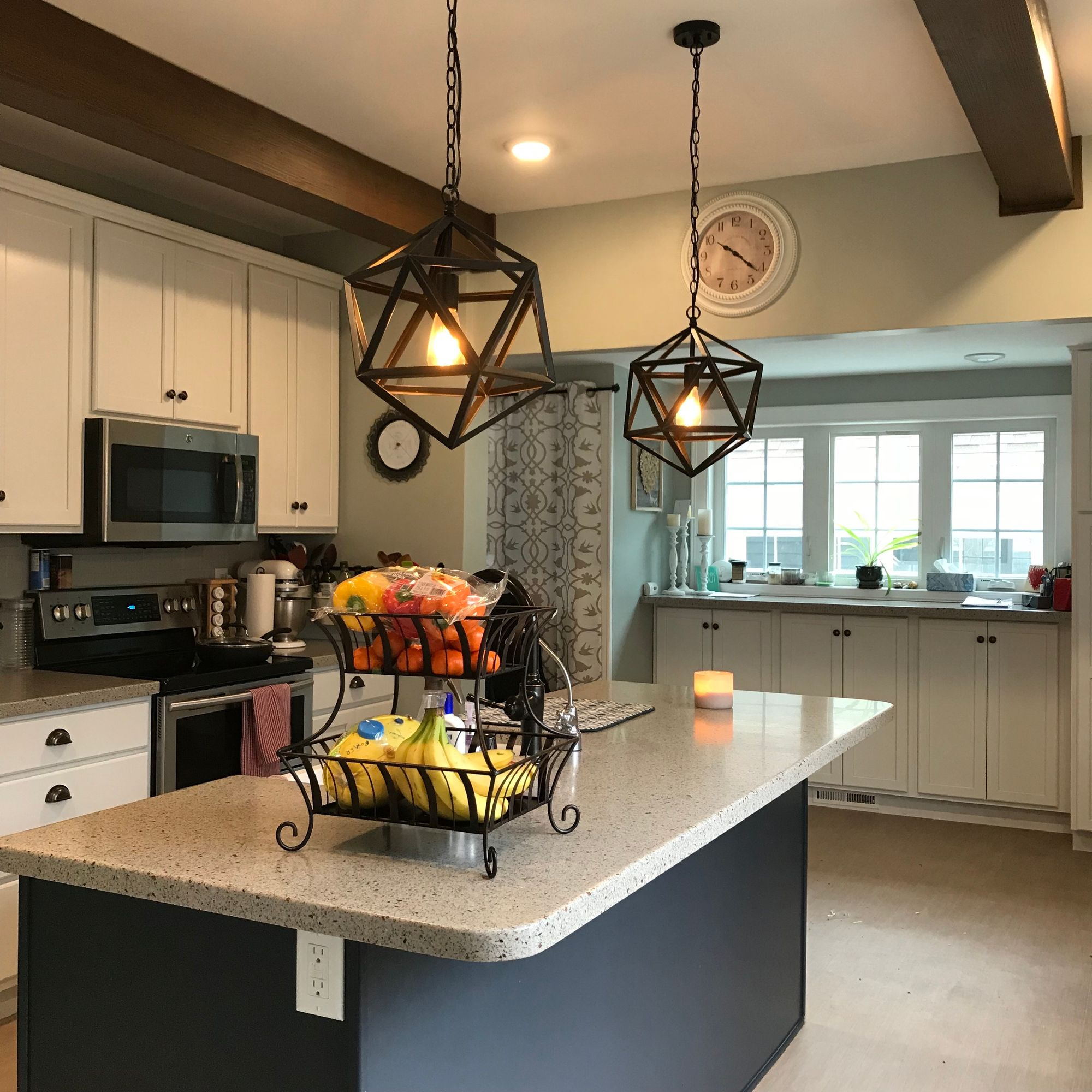 How To Integrate Ceiling Beams Into Your Kitchen – AZ Faux Beams