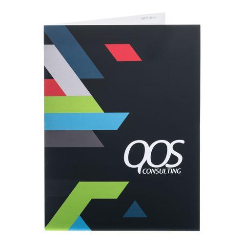 4 Color 2 Side Presentation Pocket Folders