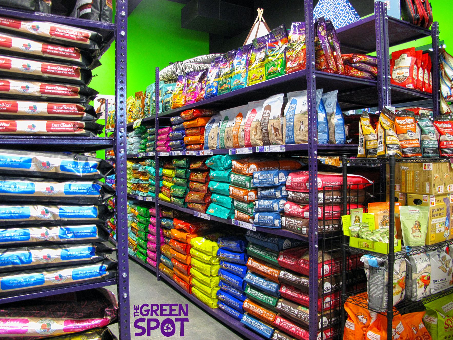 Natural dog cat food treats supplies and more the green spot solutioingenieria Images