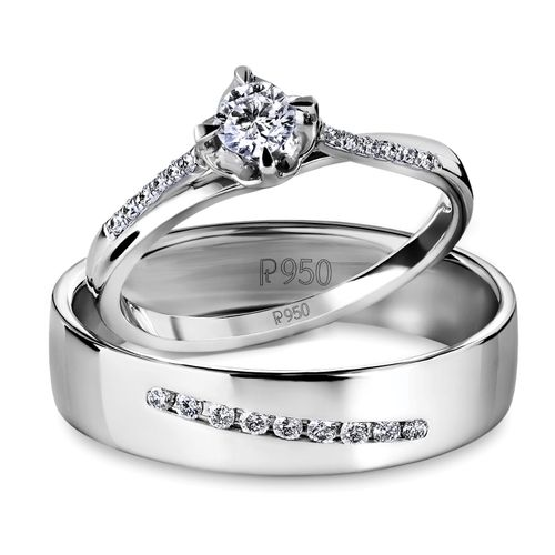 Platinum Love Bands Wedding Bands Engagement Rings