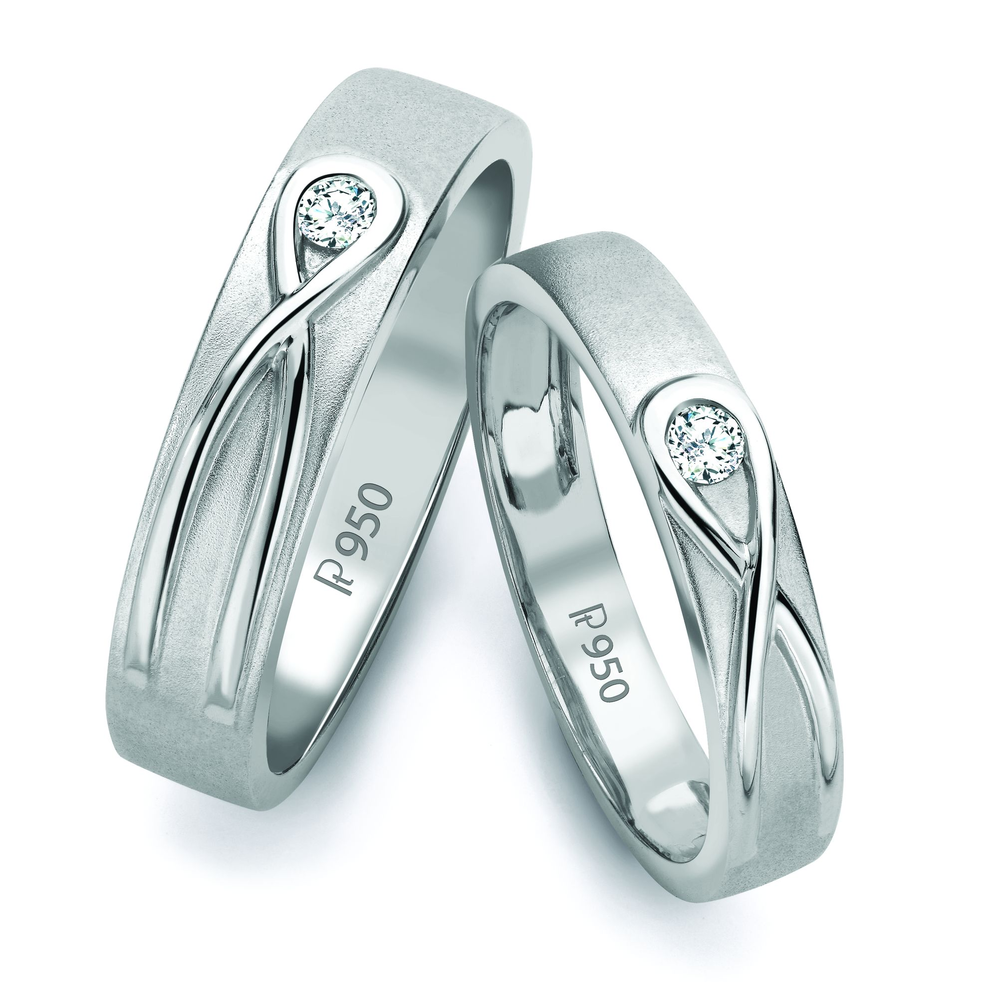 ab2965c81f1aba Platinum Love Bands, Wedding Bands & Engagement Rings – Jewelove™