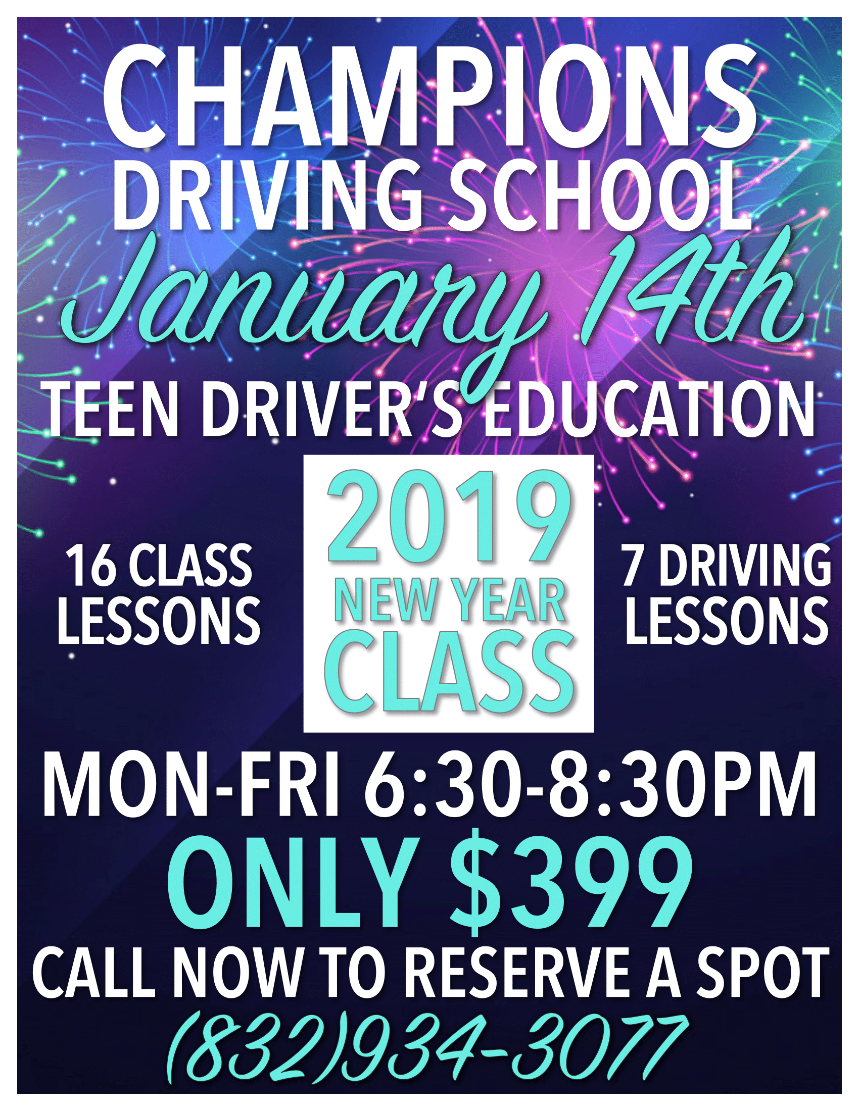 Driving School In Houston Champions Driving School