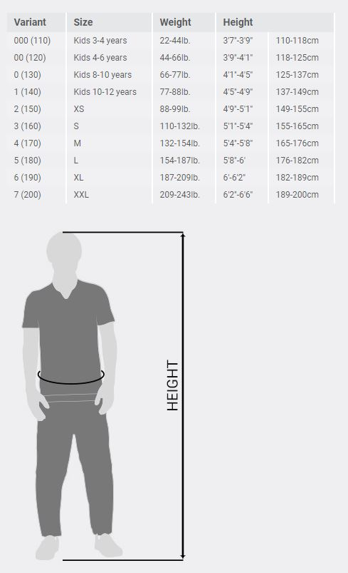 Top Ten Kickboxing Pants Size Guide
