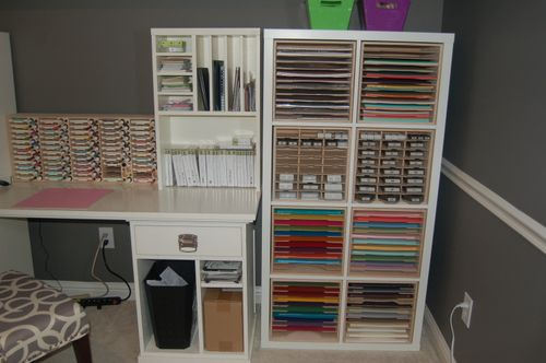 Craft Paper Holder for IKEA   Stamp n Storage