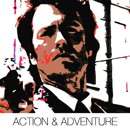 Action & Adventure Canvas Prints