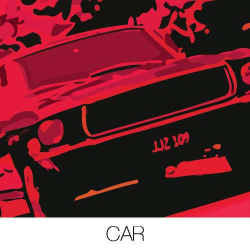 Movie Car Canvas Prints
