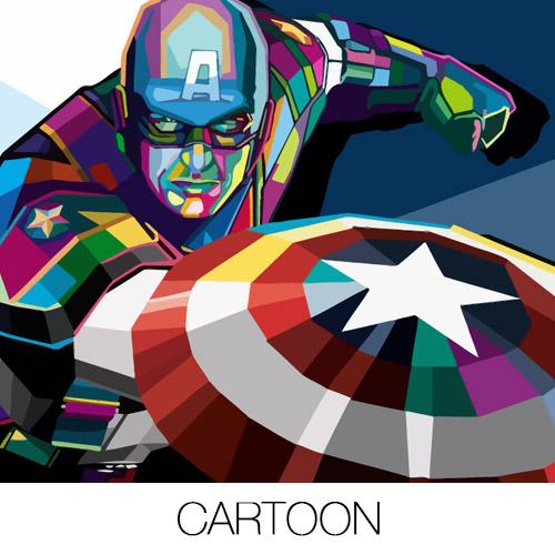 Cartoon Canvas Prints