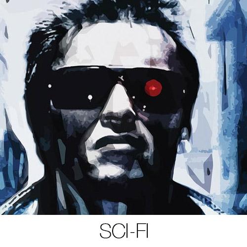 Sci-Fi Canvas Prints