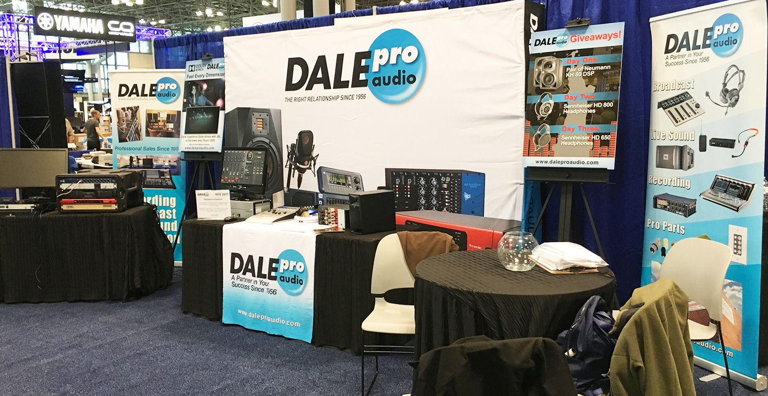143rd AES Convention and NAB New York 2017 Show - Dale Pro Audio