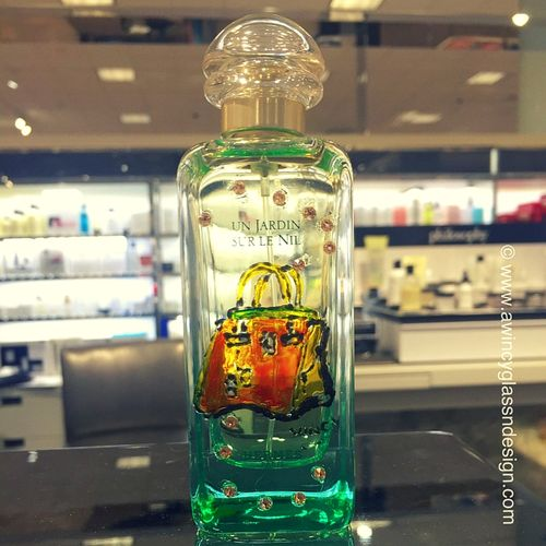 Personalized Hand Painted Perfume Bottles | A Wincy Glass N Design