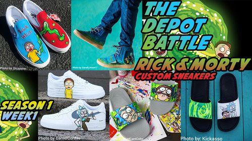 2b604b062ca1c0 Custom LV Vans Sneakers. COP OR DROP!! – CustomizerDepot